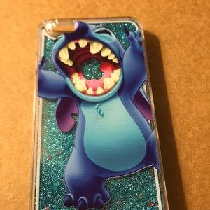 Case iPhone 6plus 6splus Glitter liquid